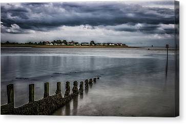 Storm On The Horizon Canvas Print by Martin Newman