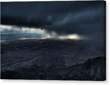 Storm Over Alburquerque Canvas Print by Max Witjes