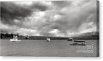 Storm Over Bailey Island Canvas Print by Olivier Le Queinec