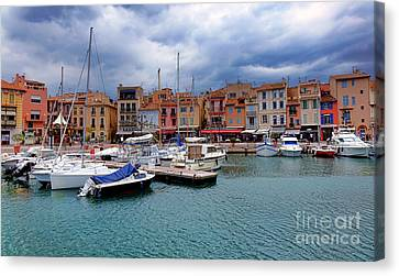 Storm Over Cassis Canvas Print by Olivier Le Queinec
