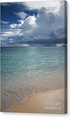 Storm Over The Caribbean Sea Canvas Print
