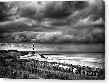 Storm Over Zeeland Canvas Print