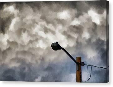 Storm Sentinel Canvas Print