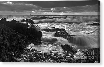 Storm Surge Canvas Print by Bill  Robinson