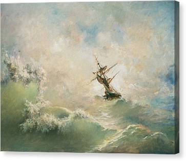 Storm Canvas Print by Tigran Ghulyan