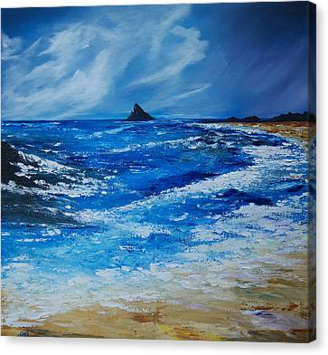 Storm To The East Of The Skellig Canvas Print