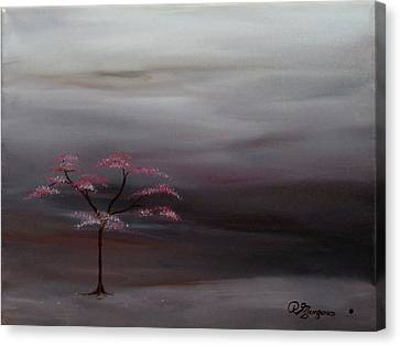 Storm Tree Canvas Print by Robert Marquiss