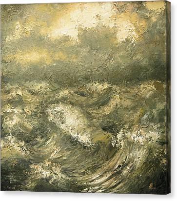 Storm Canvas Print by Vali Irina Ciobanu