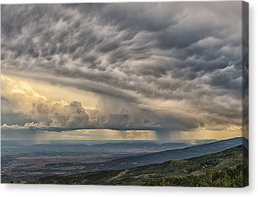 Storm View Canvas Print