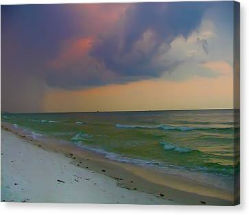 Storm Warning Canvas Print by Bill Cannon