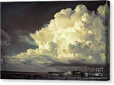 Storm Warning Canvas Print by Marvin Spates
