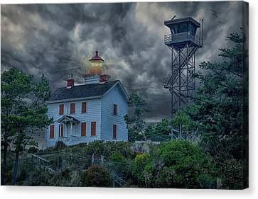 Storm Watch Canvas Print by Bill Posner
