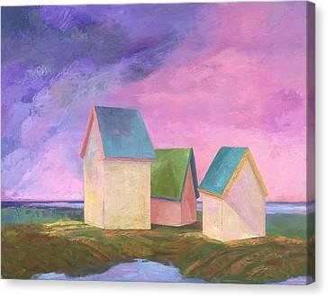 Storm Watch Canvas Print by Sherri Starr