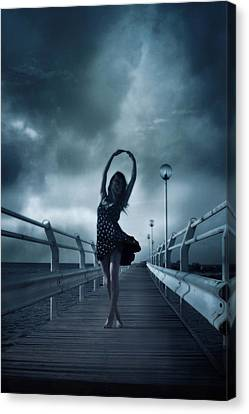 Stormdance Canvas Print by Cambion Art