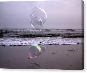 Storming Bubbles Canvas Print