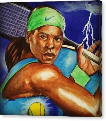 Storming Serena Canvas Print