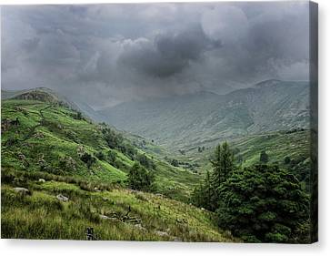 Storms A Coming Canvas Print by Martin Newman