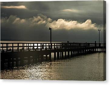 Bruster Canvas Print - Storms Brewin' by Clayton Bruster