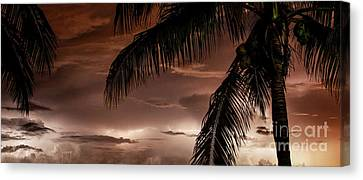 Storms On The Horizon Canvas Print by Jon Neidert