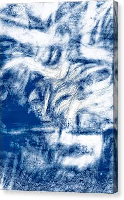 Ghostly Canvas Print - Stormy Abstract by Tom Gowanlock