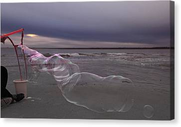 Stormy Bay Canvas Print