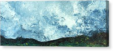 Stormy Canvas Print by Jane Autry