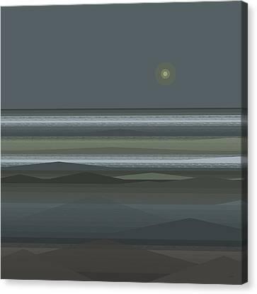 Stormy Sea - Square Canvas Print