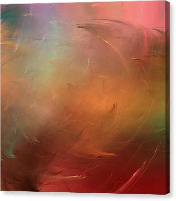 Stormy Seas Fire Canvas Print
