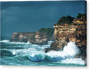 Stormy Seascape Canvas Print