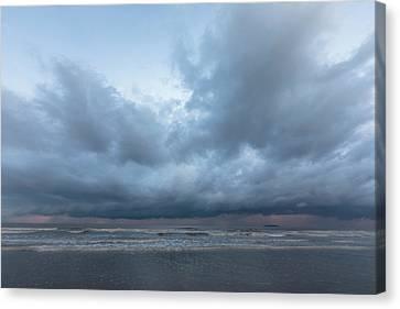 stormy sky - England Canvas Print
