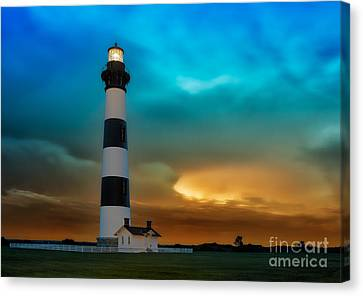 Stormy Sunrise Canvas Print