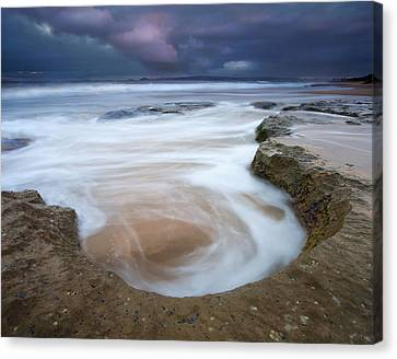 Stormy Sunrise Canvas Print by Mike  Dawson