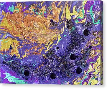 Stormy Universe Canvas Print