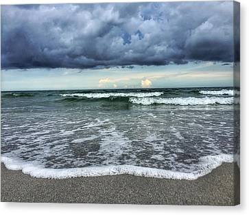 Stormy Waves Canvas Print
