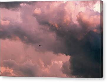 Canvas Print featuring the photograph Stormy Weather by Carolyn Dalessandro