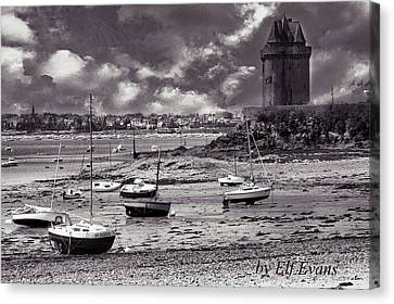 Canvas Print featuring the photograph Stormy Weather by Elf Evans