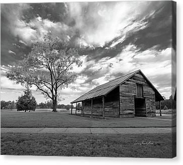 Canvas Print featuring the photograph Stormy Weather by George Randy Bass