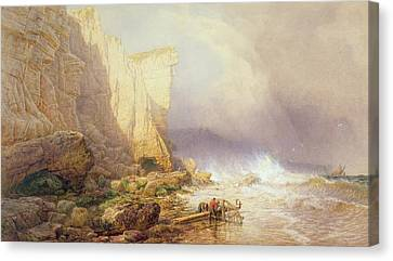 Stormy Weather Canvas Print by John Mogford