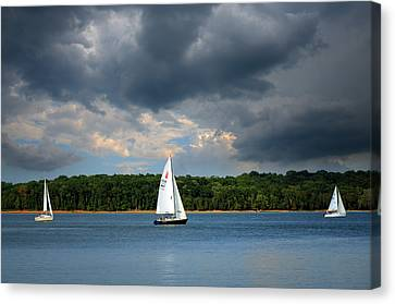 Stormy Weather Canvas Print by Steven Michael