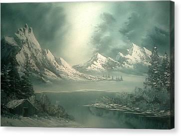 Stormy Winter Canvas Print by John Koehler