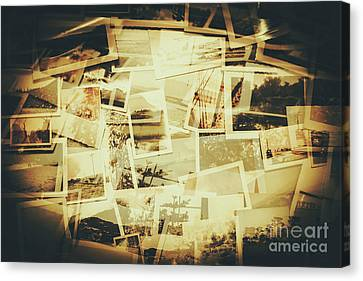 Collage Art Canvas Print - Storyboard Of Past Memories by Jorgo Photography - Wall Art Gallery