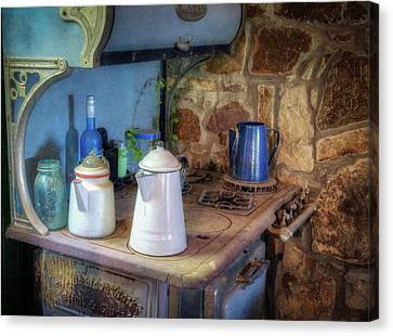 Grate Canvas Print - Stove Top by James Barber