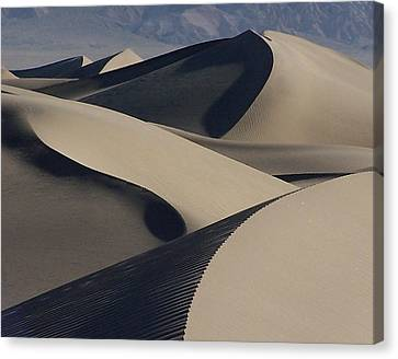 Stovepipe Morning Canvas Print by David Woodruff
