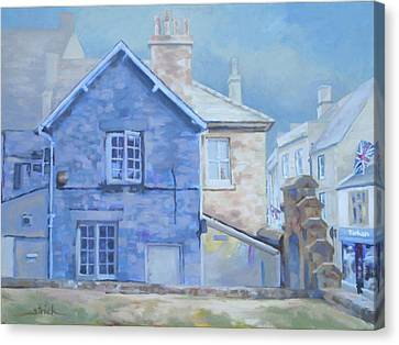 Stow On The Wold Canvas Print by Carol Strickland