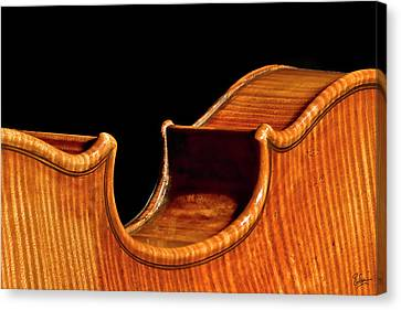 Canvas Print featuring the photograph Stradivarius Back Corner by Endre Balogh