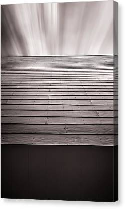 Straight Line Above Canvas Print by Scott Norris