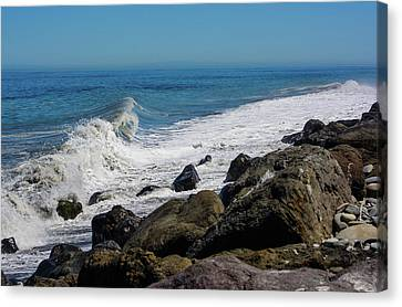 Canvas Print featuring the photograph Strait Of Juan De Fuca by Tikvah's Hope