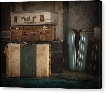 Stranded Canvas Print by Amy Weiss