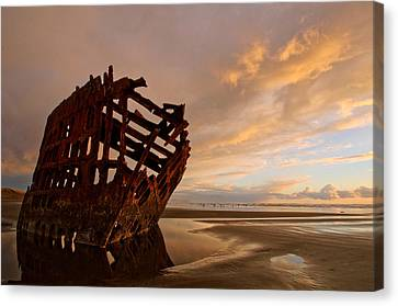 Fort Stevens State Park Canvas Print - Stranded by Dan Mihai