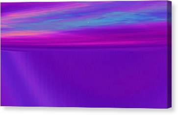 Strands Of Time Canvas Print